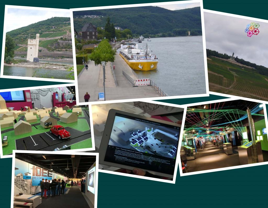 Collage MS-Wissenschft 2015 in Bingen - traumfabrik ideenraum Exkursion (jpg 704kb öffnet in neuem Fenster)