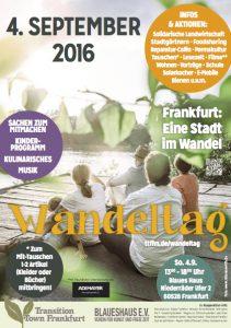 Wandeltag 2016 Flyer