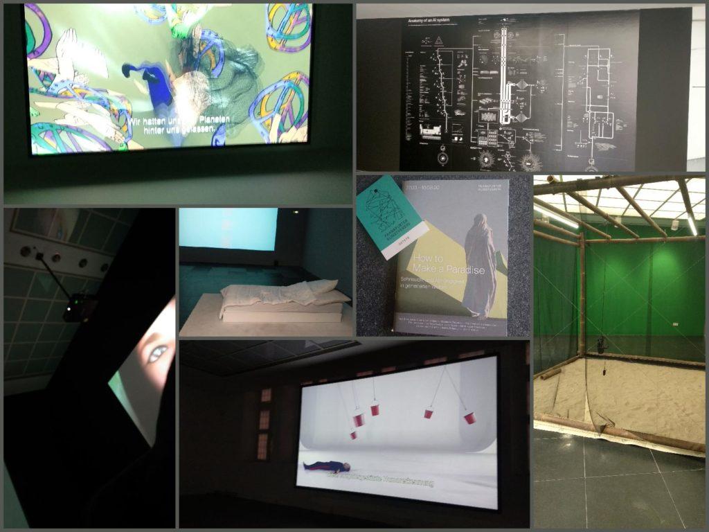 How 2 make a Paradise - im Frankfurter Kunstverein (Collage I)