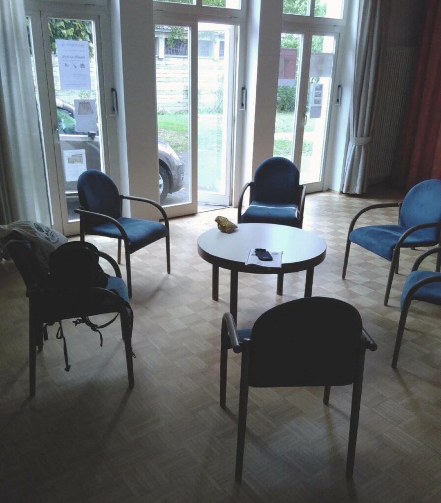 Ideenraum (runder Tisch)